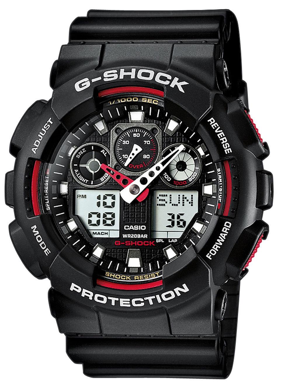 Casio G-SHOCK GA-100-1A4 / GA-100-1A4ER - оригинальные наручные часы
