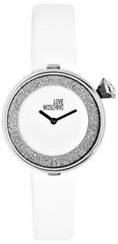 Moschino MW0427 - женские наручные часы из коллекции I love MoschinoMoschino<br>Кварцевые часы. Способ отображения времени аналоговый (стрелки), формат 12 часов, секундная стрелка отсутствует. Корпус украшен кристаллами. Заводная головка украшена камнем в форме кабошона. Корпус выполнен из нержавеющей стали. Кожаный ремешок. Диаметр корпуса: 33 мм, толщина: 8 мм.<br><br>Бренд: Moschino<br>Модель: Moschino MW0427<br>Артикул: MW0427<br>Вариант артикула: None<br>Коллекция: I love Moschino<br>Подколлекция: None<br>Страна: Италия<br>Пол: женские<br>Тип механизма: кварцевые<br>Механизм: None<br>Количество камней: None<br>Автоподзавод: None<br>Источник энергии: от батарейки<br>Срок службы элемента питания: None<br>Дисплей: стрелки<br>Цифры: отсутствуют<br>Водозащита: WR 30<br>Противоударные: None<br>Материал корпуса: нерж. сталь<br>Материал браслета: кожа<br>Материал безеля: None<br>Стекло: минеральное<br>Антибликовое покрытие: None<br>Цвет корпуса: None<br>Цвет браслета: None<br>Цвет циферблата: None<br>Цвет безеля: None<br>Размеры: 33x33x8 мм<br>Диаметр: None<br>Диаметр корпуса: None<br>Толщина: None<br>Ширина ремешка: None<br>Вес: None<br>Спорт-функции: None<br>Подсветка: None<br>Вставка: None<br>Отображение даты: None<br>Хронограф: None<br>Таймер: None<br>Термометр: None<br>Хронометр: None<br>GPS: None<br>Радиосинхронизация: None<br>Барометр: None<br>Скелетон: None<br>Дополнительная информация: None<br>Дополнительные функции: None