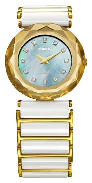 Jowissa J1.009.M - женские наручные часы из коллекции SafiraJowissa<br><br><br>Бренд: Jowissa<br>Модель: Jowissa J1.009.M<br>Артикул: J1.009.M<br>Вариант артикула: None<br>Коллекция: Safira<br>Подколлекция: None<br>Страна: Швейцария<br>Пол: женские<br>Тип механизма: кварцевые<br>Механизм: Ronda 762<br>Количество камней: None<br>Автоподзавод: None<br>Источник энергии: от батарейки<br>Срок службы элемента питания: None<br>Дисплей: стрелки<br>Цифры: отсутствуют<br>Водозащита: WR 30<br>Противоударные: None<br>Материал корпуса: нерж. сталь, покрытие: позолота (полное)<br>Материал браслета: нерж. сталь + керамика, покрытие: позолота (частичное)<br>Материал безеля: None<br>Стекло: сапфировое<br>Антибликовое покрытие: None<br>Цвет корпуса: None<br>Цвет браслета: None<br>Цвет циферблата: None<br>Цвет безеля: None<br>Размеры: 29x7 мм<br>Диаметр: None<br>Диаметр корпуса: None<br>Толщина: None<br>Ширина ремешка: None<br>Вес: None<br>Спорт-функции: None<br>Подсветка: None<br>Вставка: циркон<br>Отображение даты: None<br>Хронограф: None<br>Таймер: None<br>Термометр: None<br>Хронометр: None<br>GPS: None<br>Радиосинхронизация: None<br>Барометр: None<br>Скелетон: None<br>Дополнительная информация: None<br>Дополнительные функции: None