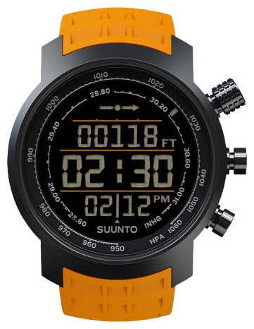 Suunto SS019172000 - мужские наручные часы из коллекции ElementumSuunto<br><br><br>Бренд: Suunto<br>Модель: Suunto Elementum Terra Amber Rubber<br>Артикул: SS019172000<br>Вариант артикула: None<br>Коллекция: Elementum<br>Подколлекция: None<br>Страна: Финляндия<br>Пол: мужские<br>Тип механизма: кварцевые<br>Механизм: None<br>Количество камней: None<br>Автоподзавод: None<br>Источник энергии: от батарейки<br>Срок службы элемента питания: None<br>Дисплей: цифры<br>Цифры: None<br>Водозащита: WR 100<br>Противоударные: None<br>Материал корпуса: нерж. сталь, PVD покрытие (полное)<br>Материал браслета: None<br>Материал безеля: None<br>Стекло: сапфировое<br>Антибликовое покрытие: есть<br>Цвет корпуса: None<br>Цвет браслета: None<br>Цвет циферблата: None<br>Цвет безеля: None<br>Размеры: None<br>Диаметр: None<br>Диаметр корпуса: None<br>Толщина: None<br>Ширина ремешка: None<br>Вес: None<br>Спорт-функции: секундомер, высотомер, барометр, термометр, компас<br>Подсветка: дисплея<br>Вставка: None<br>Отображение даты: число, месяц, день недели<br>Хронограф: есть<br>Таймер: None<br>Термометр: None<br>Хронометр: None<br>GPS: None<br>Радиосинхронизация: None<br>Барометр: None<br>Скелетон: None<br>Дополнительная информация: None<br>Дополнительные функции: будильник, встроенная память