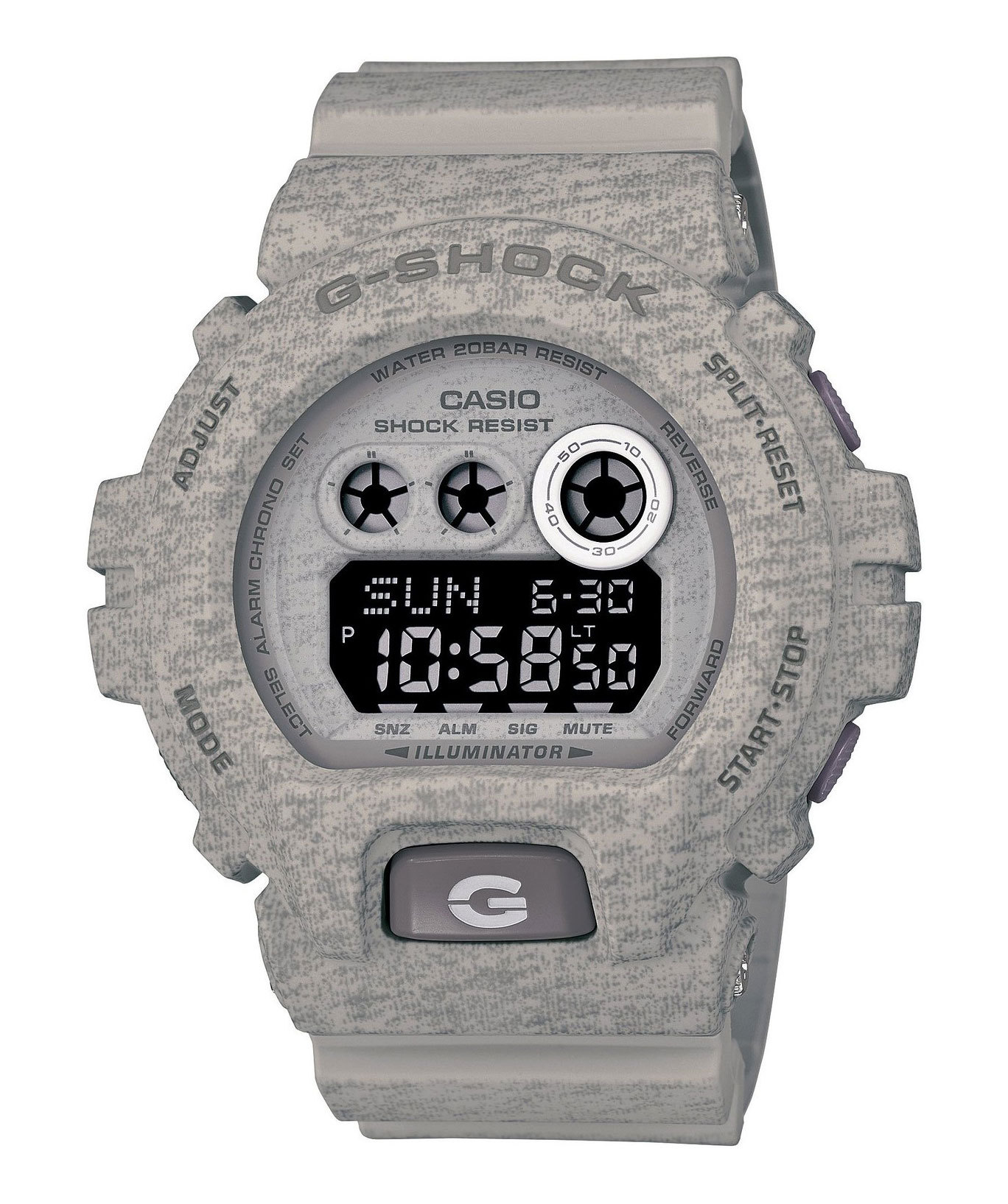 Casio G-SHOCK GD-X6900HT-8E / GD-X6900HT-8ER - мужские наручные часыCasio<br><br><br>Бренд: Casio<br>Модель: Casio GD-X6900HT-8E<br>Артикул: GD-X6900HT-8E<br>Вариант артикула: GD-X6900HT-8ER<br>Коллекция: G-SHOCK<br>Подколлекция: None<br>Страна: Япония<br>Пол: мужские<br>Тип механизма: кварцевые<br>Механизм: None<br>Количество камней: None<br>Автоподзавод: None<br>Источник энергии: от батарейки<br>Срок службы элемента питания: None<br>Дисплей: цифры<br>Цифры: None<br>Водозащита: WR 200<br>Противоударные: есть<br>Материал корпуса: пластик<br>Материал браслета: пластик<br>Материал безеля: None<br>Стекло: минеральное<br>Антибликовое покрытие: None<br>Цвет корпуса: None<br>Цвет браслета: None<br>Цвет циферблата: None<br>Цвет безеля: None<br>Размеры: 53.9x57.5x20.4 мм<br>Диаметр: None<br>Диаметр корпуса: None<br>Толщина: None<br>Ширина ремешка: None<br>Вес: 79 г<br>Спорт-функции: секундомер, таймер обратного отсчета<br>Подсветка: дисплея<br>Вставка: None<br>Отображение даты: вечный календарь, число, месяц, год, день недели<br>Хронограф: None<br>Таймер: None<br>Термометр: None<br>Хронометр: None<br>GPS: None<br>Радиосинхронизация: None<br>Барометр: None<br>Скелетон: None<br>Дополнительная информация: автоподсветка, ежечасный сигнал, повтор сигнала будильника, функция Flash alert, функция включения/отключения звука кнопок; элемент питания CR2032, срок службы батарейки 10 лет<br>Дополнительные функции: второй часовой пояс, будильник (количество установок: 3)