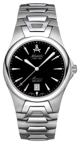 Atlantic 80775.41.61 - мужские наручные часы из коллекции MarinerAtlantic<br><br><br>Бренд: Atlantic<br>Модель: Atlantic 80775.41.61<br>Артикул: 80775.41.61<br>Вариант артикула: None<br>Коллекция: Mariner<br>Подколлекция: None<br>Страна: Швейцария<br>Пол: мужские<br>Тип механизма: механические<br>Механизм: ETA 2824-2<br>Количество камней: None<br>Автоподзавод: есть<br>Источник энергии: пружинный механизм<br>Срок службы элемента питания: None<br>Дисплей: стрелки<br>Цифры: отсутствуют<br>Водозащита: WR 200<br>Противоударные: None<br>Материал корпуса: нерж. сталь<br>Материал браслета: нерж. сталь<br>Материал безеля: None<br>Стекло: сапфировое<br>Антибликовое покрытие: есть<br>Цвет корпуса: None<br>Цвет браслета: None<br>Цвет циферблата: None<br>Цвет безеля: None<br>Размеры: 40 мм<br>Диаметр: None<br>Диаметр корпуса: None<br>Толщина: None<br>Ширина ремешка: None<br>Вес: None<br>Спорт-функции: None<br>Подсветка: стрелок<br>Вставка: None<br>Отображение даты: число<br>Хронограф: None<br>Таймер: None<br>Термометр: None<br>Хронометр: None<br>GPS: None<br>Радиосинхронизация: None<br>Барометр: None<br>Скелетон: None<br>Дополнительная информация: прозрачная задняя крышка<br>Дополнительные функции: None
