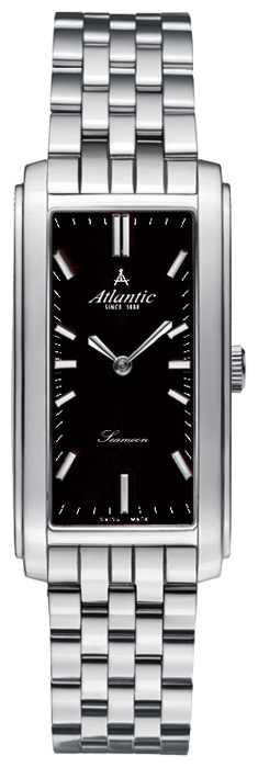 Atlantic 27048.41.61 - женские наручные часы из коллекции SeamoonAtlantic<br><br><br>Бренд: Atlantic<br>Модель: Atlantic 27048.41.61<br>Артикул: 27048.41.61<br>Вариант артикула: None<br>Коллекция: Seamoon<br>Подколлекция: None<br>Страна: Швейцария<br>Пол: женские<br>Тип механизма: кварцевые<br>Механизм: ETA 901.001<br>Количество камней: None<br>Автоподзавод: None<br>Источник энергии: от батарейки<br>Срок службы элемента питания: None<br>Дисплей: стрелки<br>Цифры: отсутствуют<br>Водозащита: WR 30<br>Противоударные: None<br>Материал корпуса: нерж. сталь<br>Материал браслета: нерж. сталь<br>Материал безеля: None<br>Стекло: сапфировое<br>Антибликовое покрытие: None<br>Цвет корпуса: None<br>Цвет браслета: None<br>Цвет циферблата: None<br>Цвет безеля: None<br>Размеры: 20x30 мм<br>Диаметр: None<br>Диаметр корпуса: None<br>Толщина: None<br>Ширина ремешка: None<br>Вес: None<br>Спорт-функции: None<br>Подсветка: None<br>Вставка: None<br>Отображение даты: None<br>Хронограф: None<br>Таймер: None<br>Термометр: None<br>Хронометр: None<br>GPS: None<br>Радиосинхронизация: None<br>Барометр: None<br>Скелетон: None<br>Дополнительная информация: None<br>Дополнительные функции: None