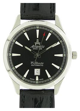 Atlantic 53750.41.61 - мужские наручные часы из коллекции WorldmasterAtlantic<br><br><br>Бренд: Atlantic<br>Модель: Atlantic 53750.41.61<br>Артикул: 53750.41.61<br>Вариант артикула: None<br>Коллекция: Worldmaster<br>Подколлекция: None<br>Страна: Швейцария<br>Пол: мужские<br>Тип механизма: механические<br>Механизм: ETA 2824-2<br>Количество камней: None<br>Автоподзавод: есть<br>Источник энергии: пружинный механизм<br>Срок службы элемента питания: None<br>Дисплей: стрелки<br>Цифры: отсутствуют<br>Водозащита: WR 50<br>Противоударные: None<br>Материал корпуса: нерж. сталь<br>Материал браслета: кожа<br>Материал безеля: None<br>Стекло: сапфировое<br>Антибликовое покрытие: None<br>Цвет корпуса: None<br>Цвет браслета: None<br>Цвет циферблата: None<br>Цвет безеля: None<br>Размеры: 42x42 мм<br>Диаметр: None<br>Диаметр корпуса: None<br>Толщина: None<br>Ширина ремешка: None<br>Вес: None<br>Спорт-функции: None<br>Подсветка: стрелок<br>Вставка: None<br>Отображение даты: число<br>Хронограф: None<br>Таймер: None<br>Термометр: None<br>Хронометр: None<br>GPS: None<br>Радиосинхронизация: None<br>Барометр: None<br>Скелетон: None<br>Дополнительная информация: запас хода 49 часов<br>Дополнительные функции: None