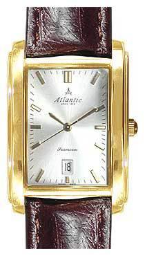 Atlantic 27343.45.21 - мужские наручные часы из коллекции SeamoonAtlantic<br><br><br>Бренд: Atlantic<br>Модель: Atlantic 27343.45.21<br>Артикул: 27343.45.21<br>Вариант артикула: None<br>Коллекция: Seamoon<br>Подколлекция: None<br>Страна: Швейцария<br>Пол: мужские<br>Тип механизма: кварцевые<br>Механизм: ETA F05.111<br>Количество камней: None<br>Автоподзавод: None<br>Источник энергии: от батарейки<br>Срок службы элемента питания: None<br>Дисплей: стрелки<br>Цифры: отсутствуют<br>Водозащита: WR 30<br>Противоударные: None<br>Материал корпуса: нерж. сталь, покрытие: позолота<br>Материал браслета: кожа<br>Материал безеля: None<br>Стекло: сапфировое<br>Антибликовое покрытие: None<br>Цвет корпуса: None<br>Цвет браслета: None<br>Цвет циферблата: None<br>Цвет безеля: None<br>Размеры: 28x41 мм<br>Диаметр: None<br>Диаметр корпуса: None<br>Толщина: None<br>Ширина ремешка: None<br>Вес: None<br>Спорт-функции: None<br>Подсветка: None<br>Вставка: None<br>Отображение даты: число<br>Хронограф: None<br>Таймер: None<br>Термометр: None<br>Хронометр: None<br>GPS: None<br>Радиосинхронизация: None<br>Барометр: None<br>Скелетон: None<br>Дополнительная информация: позолота 5 мкм<br>Дополнительные функции: None