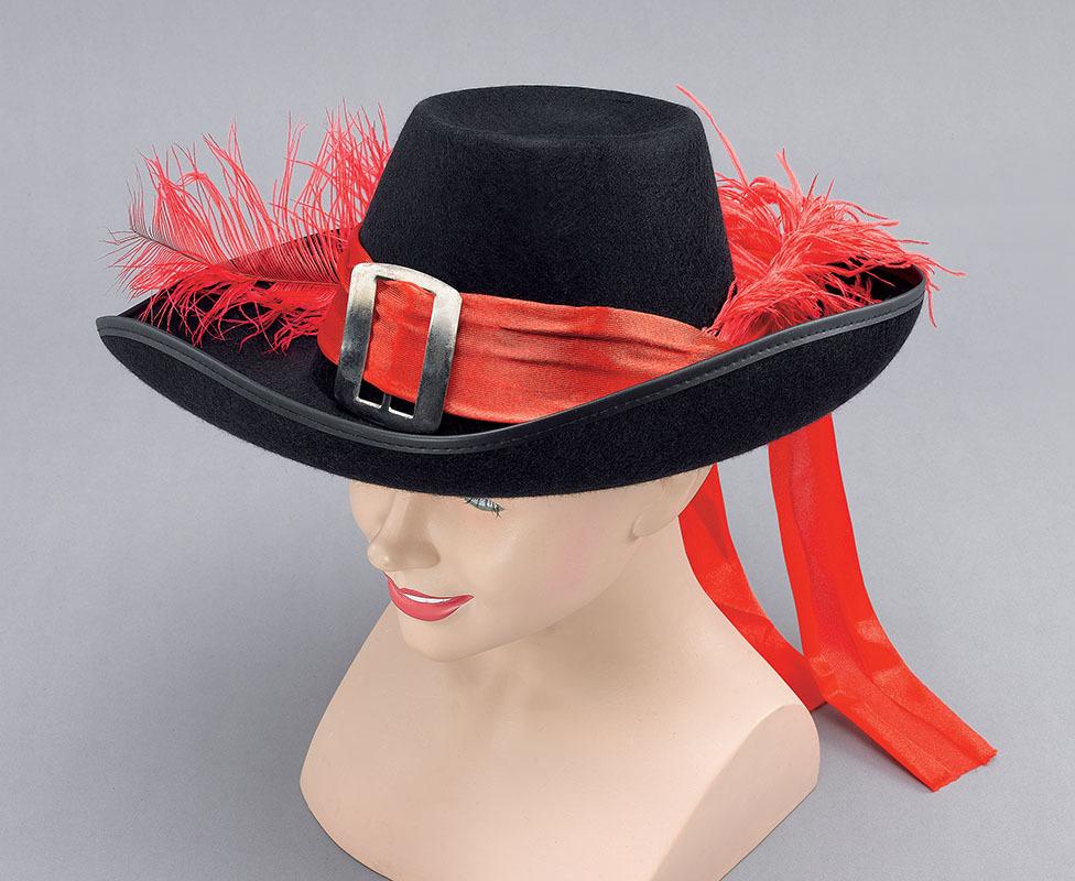 Шляпа мушкетёра своими руками фото