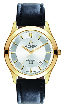 Atlantic 71360.45.21 - мужские наручные часы из коллекции SeahunterAtlantic<br><br><br>Бренд: Atlantic<br>Модель: Atlantic 71360.45.21<br>Артикул: 71360.45.21<br>Вариант артикула: None<br>Коллекция: Seahunter<br>Подколлекция: None<br>Страна: Швейцария<br>Пол: мужские<br>Тип механизма: кварцевые<br>Механизм: ETA F06.111<br>Количество камней: None<br>Автоподзавод: None<br>Источник энергии: от батарейки<br>Срок службы элемента питания: None<br>Дисплей: стрелки<br>Цифры: отсутствуют<br>Водозащита: WR 100<br>Противоударные: None<br>Материал корпуса: нерж. сталь, PVD покрытие: позолота (полное)<br>Материал браслета: кожа<br>Материал безеля: None<br>Стекло: сапфировое<br>Антибликовое покрытие: None<br>Цвет корпуса: None<br>Цвет браслета: None<br>Цвет циферблата: None<br>Цвет безеля: None<br>Размеры: 40 мм<br>Диаметр: None<br>Диаметр корпуса: None<br>Толщина: None<br>Ширина ремешка: None<br>Вес: None<br>Спорт-функции: None<br>Подсветка: None<br>Вставка: None<br>Отображение даты: число<br>Хронограф: None<br>Таймер: None<br>Термометр: None<br>Хронометр: None<br>GPS: None<br>Радиосинхронизация: None<br>Барометр: None<br>Скелетон: None<br>Дополнительная информация: None<br>Дополнительные функции: None