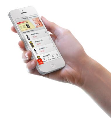 Мобильная версия интернет-магазина Prime Lashes