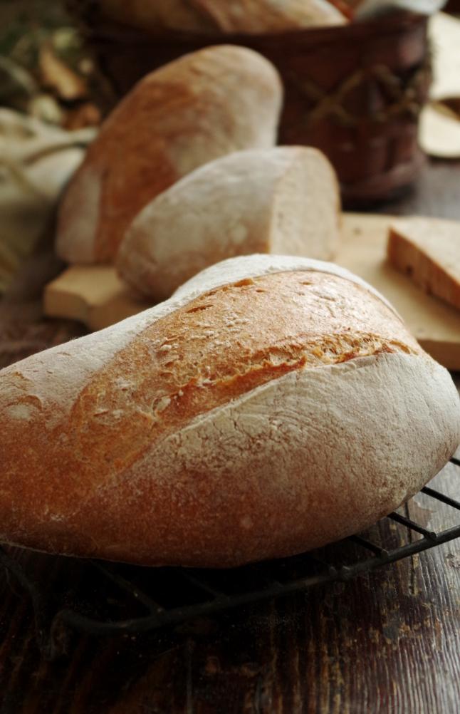 Украшаем хлеб : Хлеб, батоны, багеты, чиабатта 65