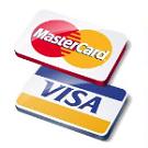 Оплата заказа банковской картой Visa, MasterCard или Maestro