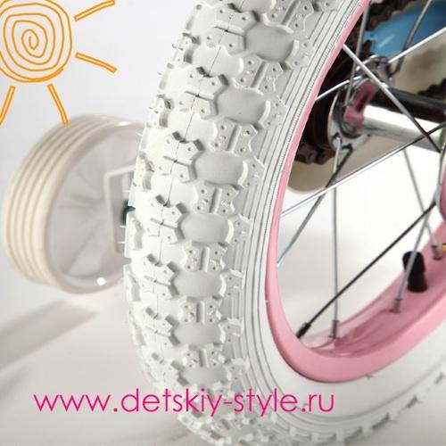"""Задние приставные колеса, съемные велосипеда Royal Baby """"Stargirl Steel"""""""
