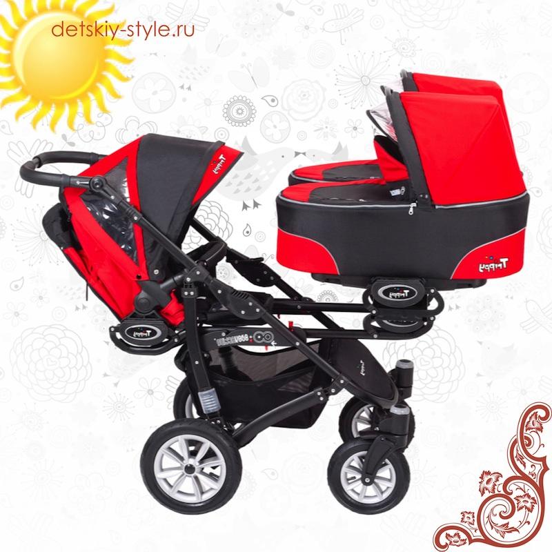 коляска babyactive trippy для тройни, купить, бэби актив триппи, отзывы, цена, бесплатная доставка, заказать, доставка по россии, стоимость, detskiy-style.ru