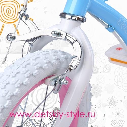 Ручной тормаз велосипеда Royal Baby Stargirl Steel купить в магазине Detskiy-Style.RU