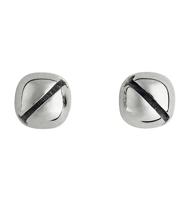 купите серьги в форме колокольчиков из серебра Mini Bell studs silver от Ina Beisnner