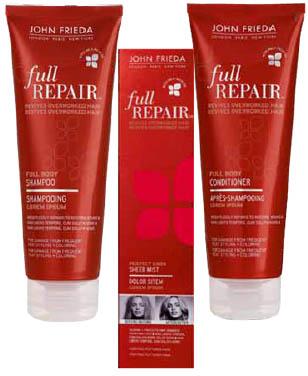 Профессиональная косметика для волос John Frieda. Средства по уходу и восстановлению волос John Frieda