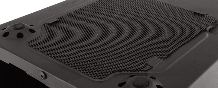 Фильтр против пыли на дне корпуса