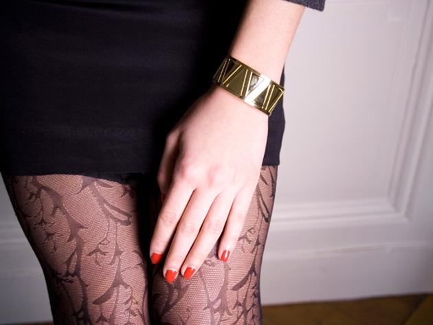 купите браслет манжет с кристаллами от Chic Alors-Paris