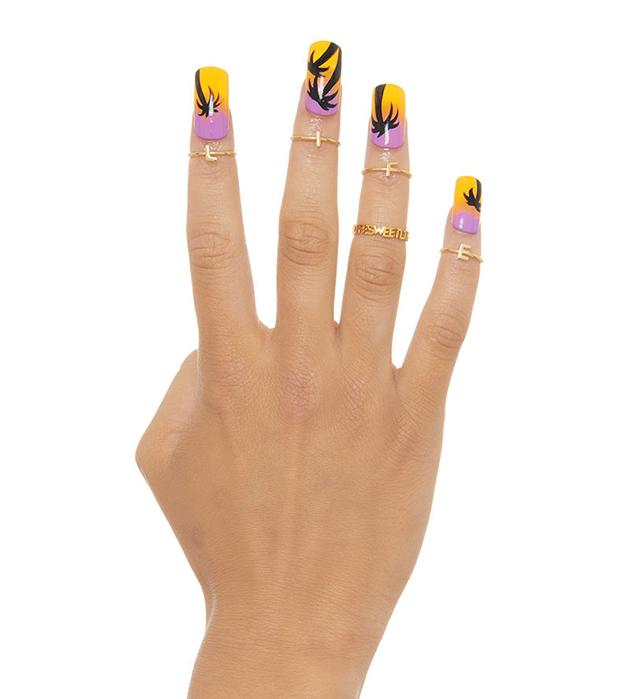 стильное кольцо на фалангу Sweet Life от итальянского бренда Maria Francesca Pepe