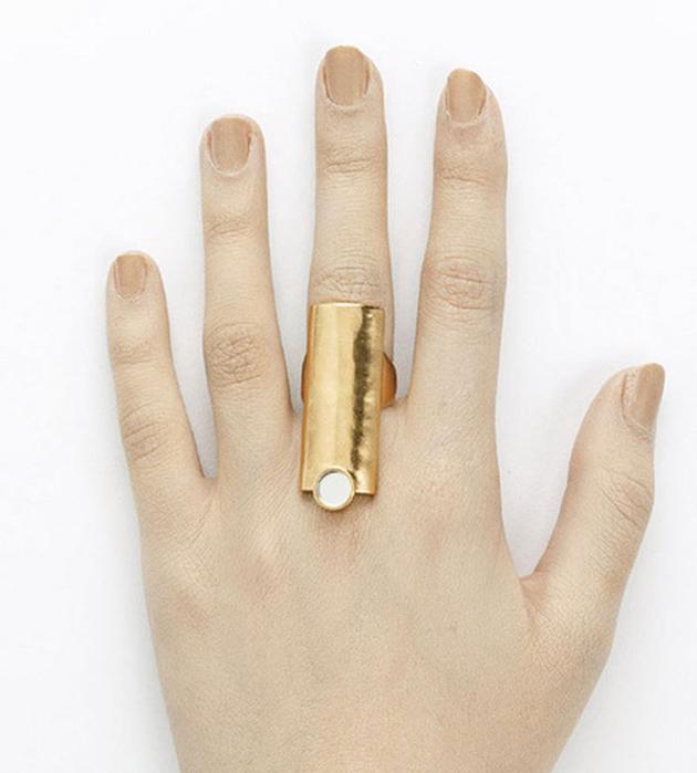оригинальное кольцо ручной работы кольцо The Other от BJORG