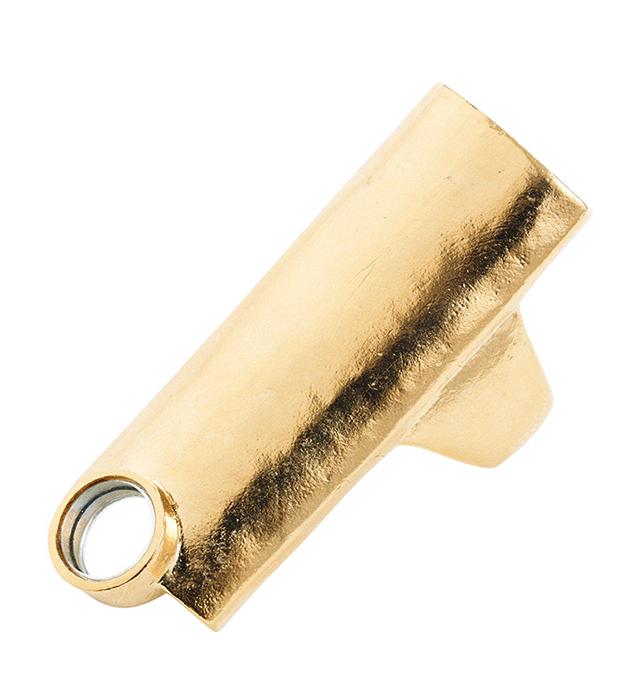 украшение из позолоченной бронзы с зеркальцем The Other от BJORG