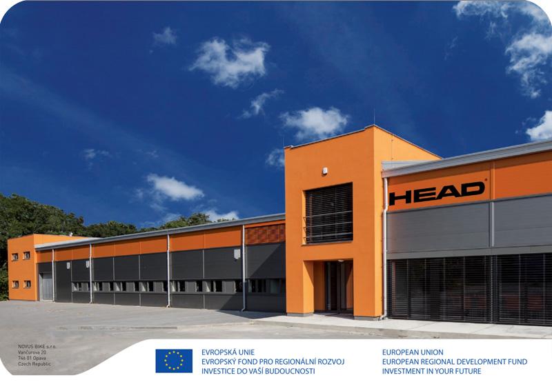 Завод велосипедов Head в Чехии