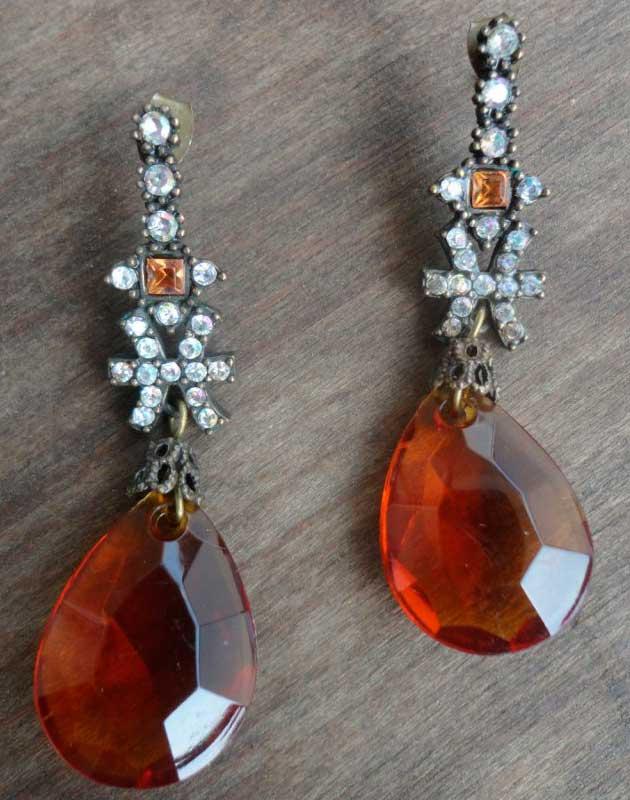 купить-винтажные-серьги-из-металла-и-кристаллов-фото
