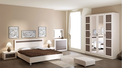 ТОКИО Мебель для спальни (дуб белфорд/каналы дуба)