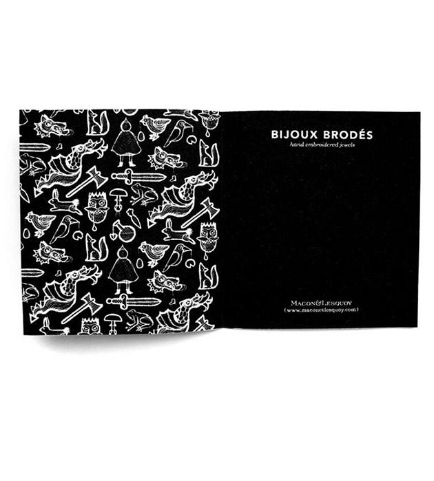купите необычный набор из 2 брошей от французского бренда Macon&Lesquoy - Prince brooches