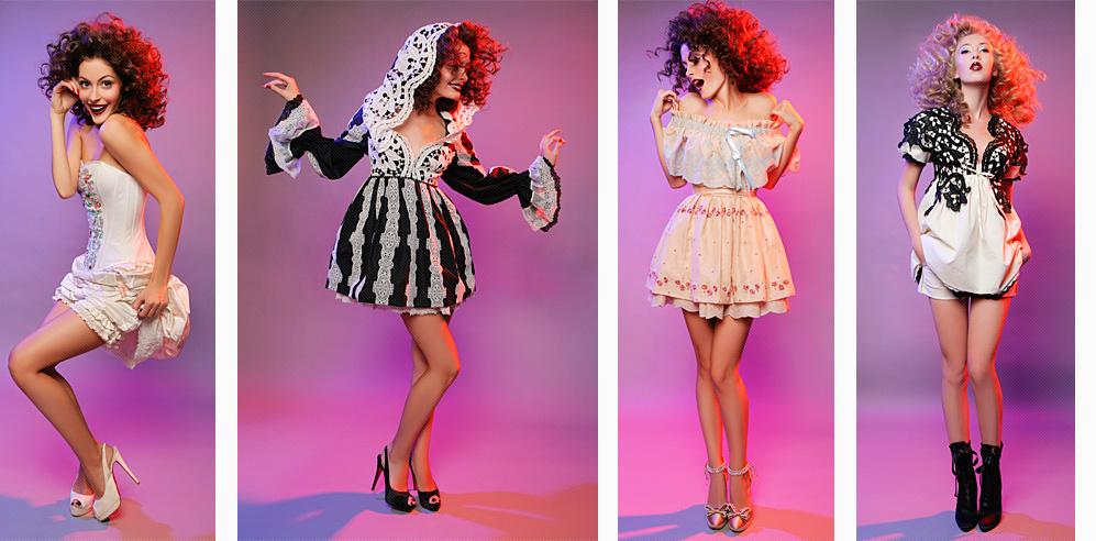 История бренда Be-Baby. На фотографии платья из эксклюзивной коллекции.