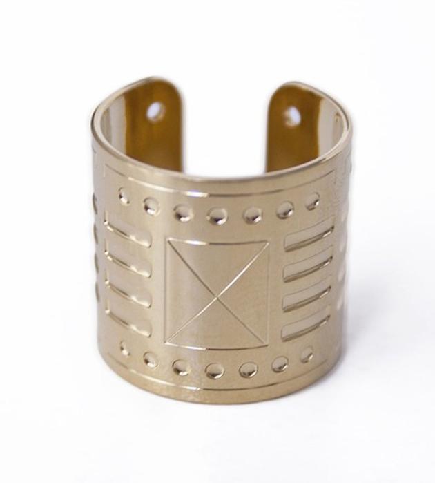 купите оригинальное кольцо Afrocube с гравировкой от Chic Alors Paris