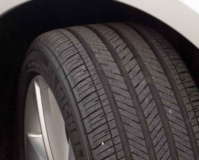 Как выглядит новая шина