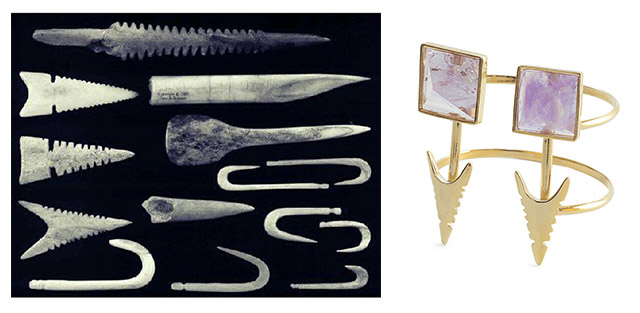 браслет от MAVA HAZE с элементами культуры инуитов