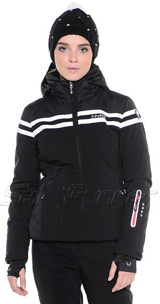 Горнолыжная куртка Hyra Black-White HLG3385 женская