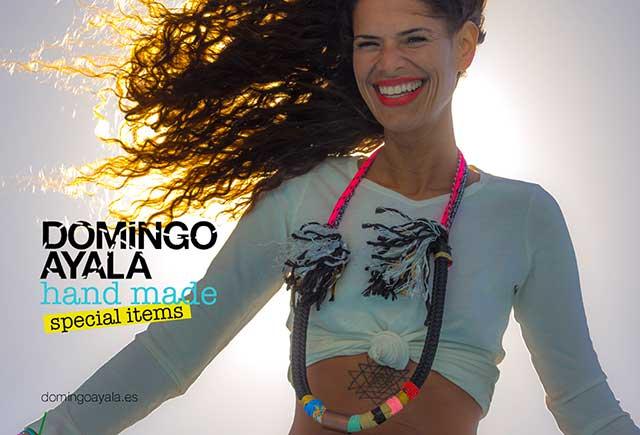 эффектные разноцветные колье от испанского бренда Domingo Ayala