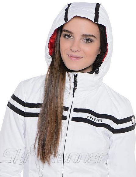Горнолыжная куртка Hyra White-Black HLG3385 женская