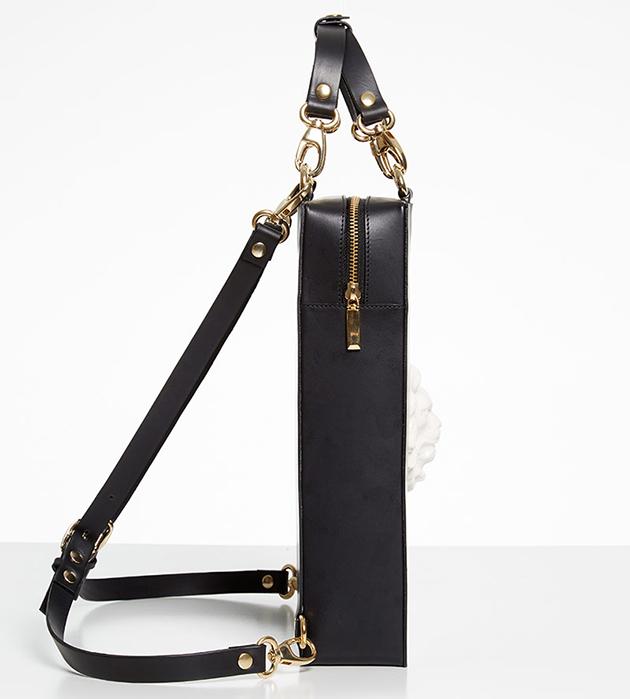 купите рюкзак чёрного цвета от испанского бренда ANDRES GALLARDO - Bagpack Lion Bag Black