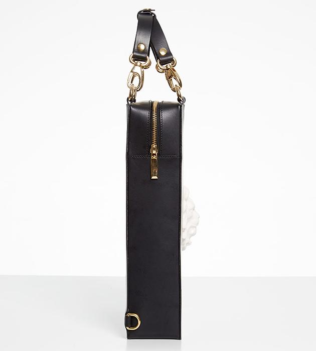 купите стильную сумку-рюкзак ручной работы Bagpack Lion Bag Black  от ANDRES GALLARDO