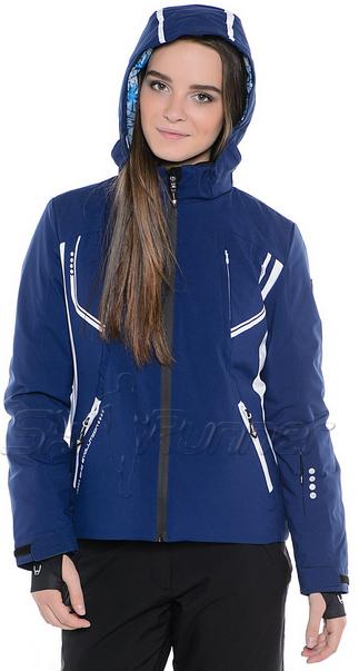 Горнолыжная куртка Hyra Night-Blue-White HLG1340 женская