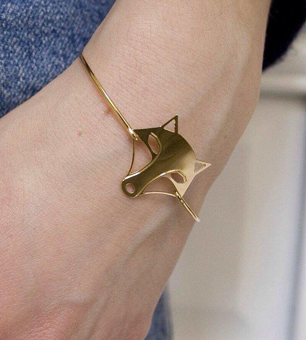 купить браслет с волчицей от Chic Alors-Paris