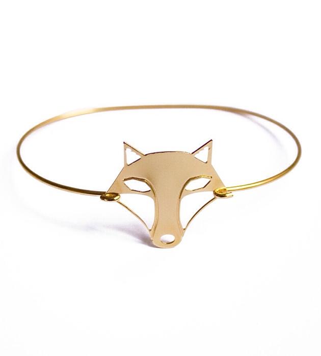 купите тонкий браслет с волчицей от Chic Alors-Paris