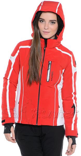 Горнолыжная куртка Hyra HLG 0360 Red-White женская