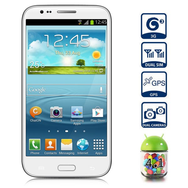Star S7100 White Galaxy Note 2 (MTK6577)