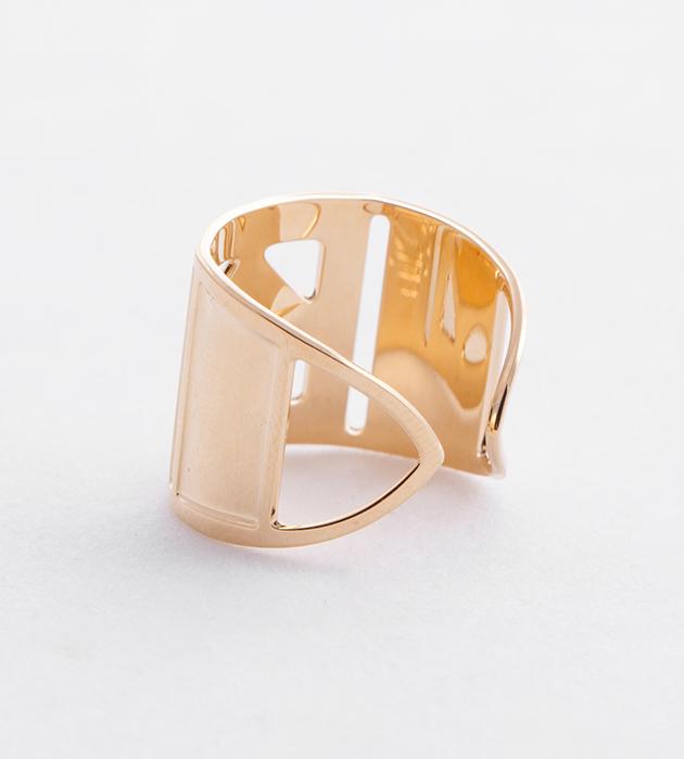 купите элегантное кольцо золотого цвета Dario от Chic Alors-Paris