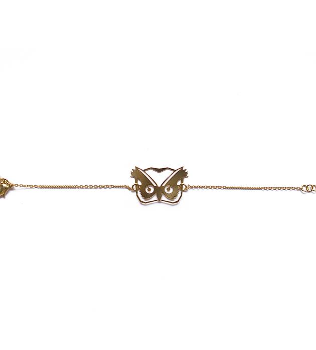 купите браслет на цепочке Hibou от Chic Alors-Paris