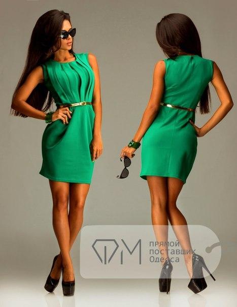 Кому идет зеленое платье