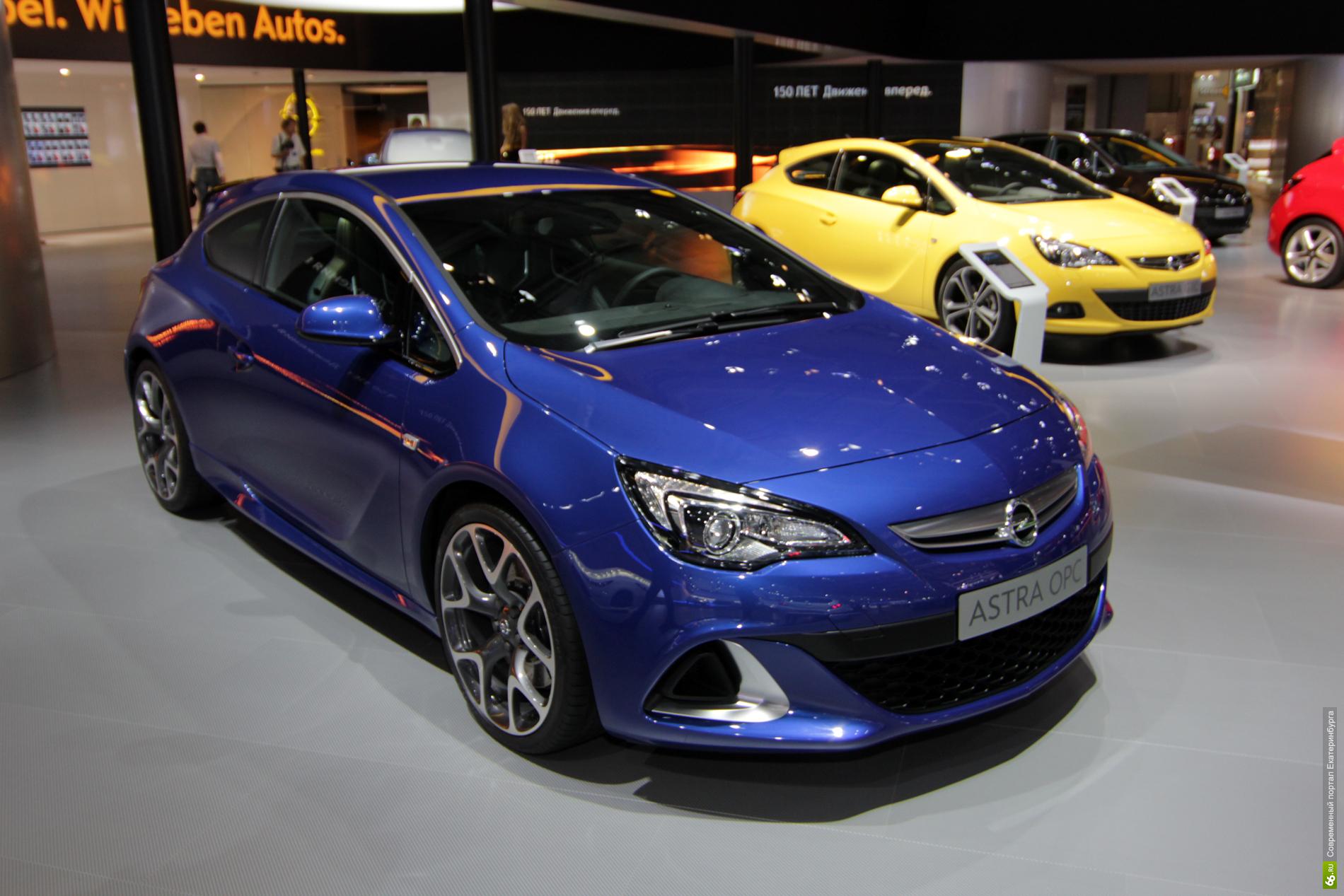 Opel Astra OPC: обгоняя время