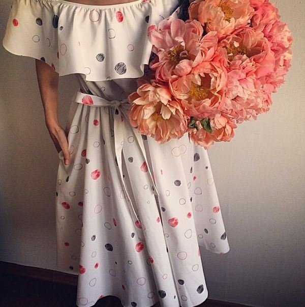 платье от Вики Газинской
