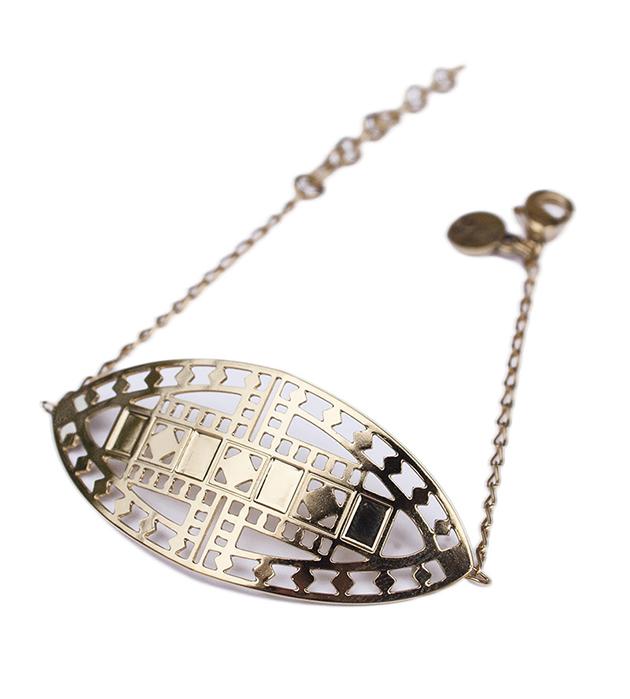 купите браслет золотого цвета на цепочке Vassily от Chic Alors-Paris