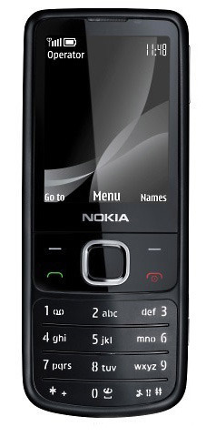 Nokia 6700 TV Duos Black