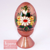 Сувенирное расписное яйцо